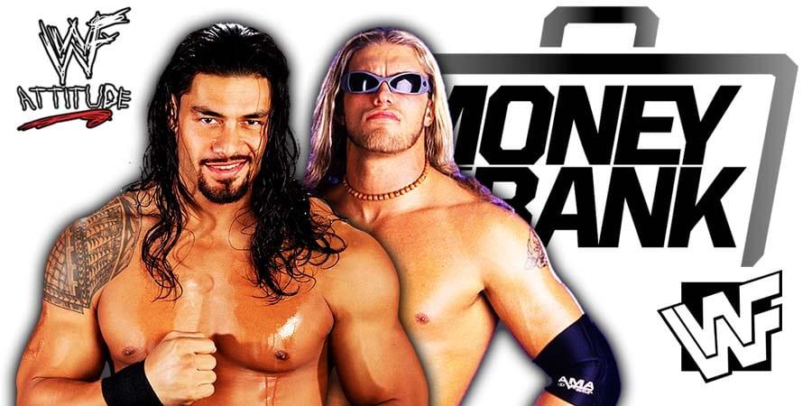 Roman Reigns vs Edge WWE Money In The Bank 2021