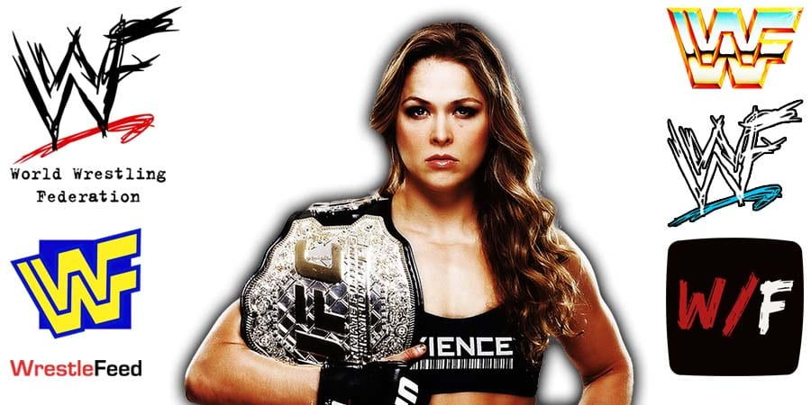 Ronda Rousey Article Pic 6 WrestleFeed App