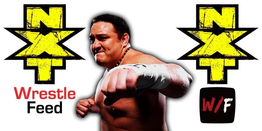 Samoa Joe NXT Article Pic 1 WrestleFeed App