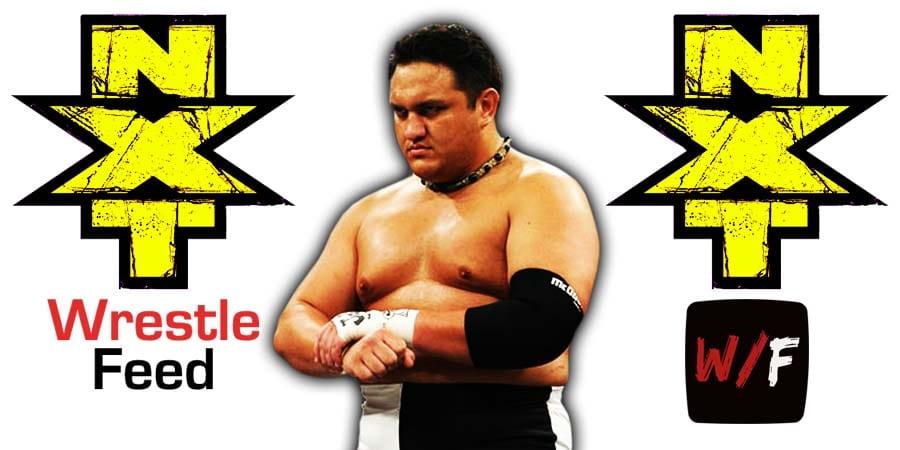 Samoa Joe NXT Article Pic 3 WrestleFeed App
