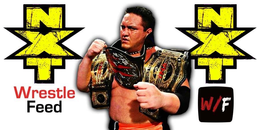 Samoa Joe NXT Article Pic 4 WrestleFeed App