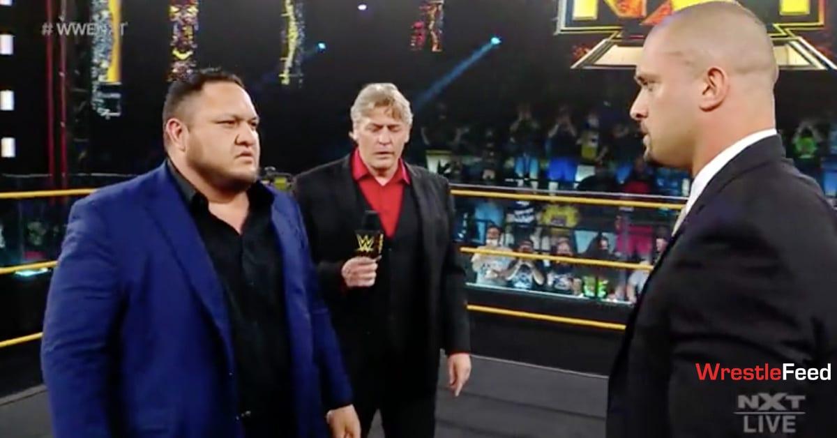 Samoa Joe William Regal Karrion Kross WrestleFeed App