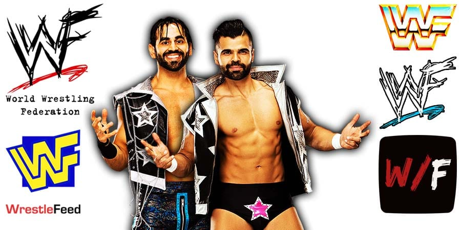 Singh Brothers - Bollywood Boyz - Sunil Singh & Samir Singh Article Pic 1 WrestleFeed App