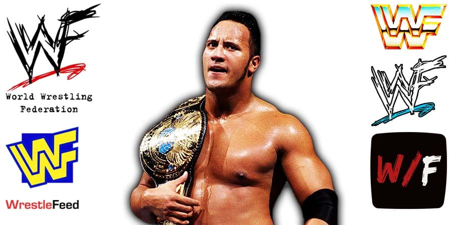 The Rock WWF Champion Article Pic 16 WrestleFeed App