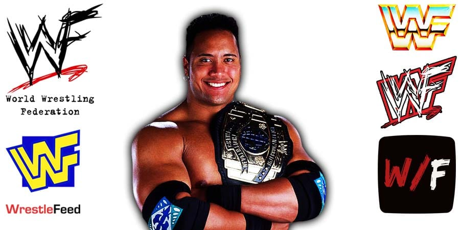 The Rock WWF Intercontinental Champion Article Pic 15 WrestleFeed App