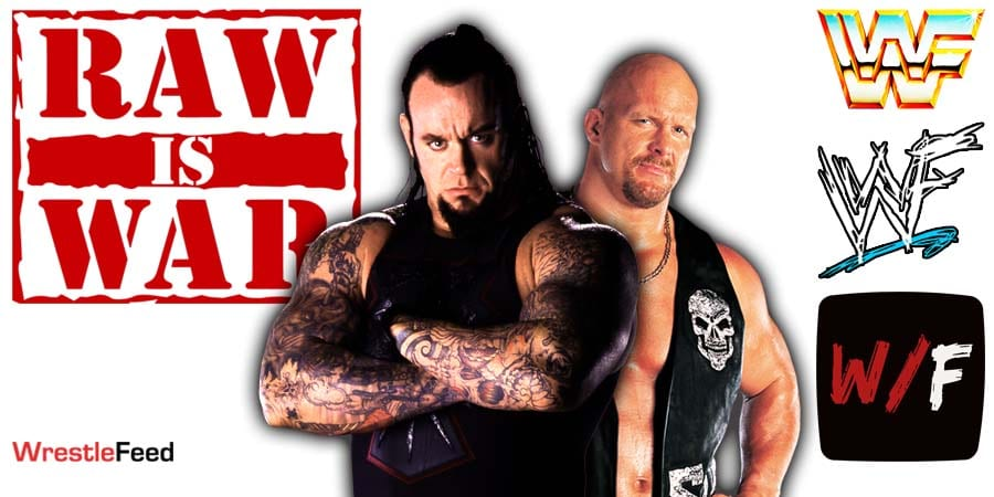 The Undertaker vs Stone Cold Steve Austin WWF RAW IS WAR June 28 1999 Highest Rated Most Viewed RAW Segment 10.72 Million Viewers WrestleFeed App