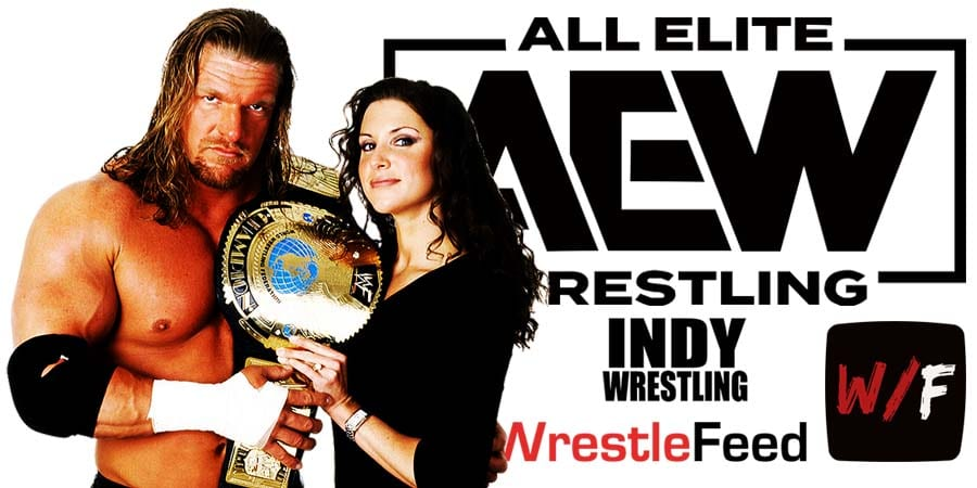 Triple H AEW Article PIc 2 WrestleFeed App