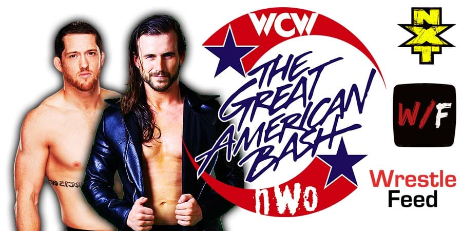 Adam Cole defeats Kyle O'Reilly at NXT Great American Bash 2021 WrestleFeed App