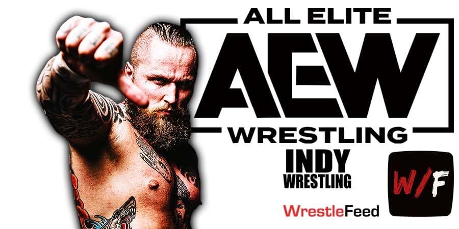 Aleister Black Malakai Black AEW Article Pic 2 WrestleFeed App