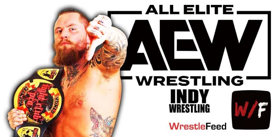 Aleister Black Malakai Black AEW Article Pic 4 WrestleFeed App