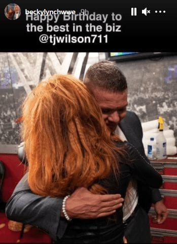 Becky Lynch calls Tyson Kidd the best in the business