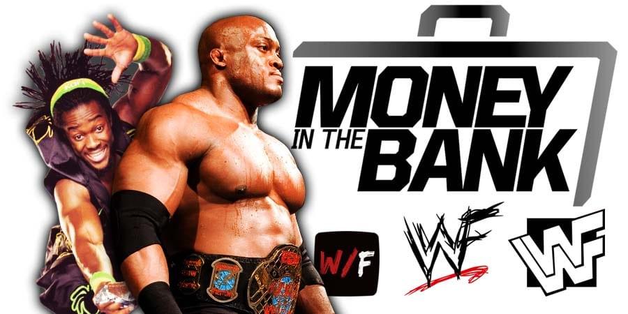 Bobby Lashley vs Kofi Kingston Money In The Bank 2021 WrestleFeed App