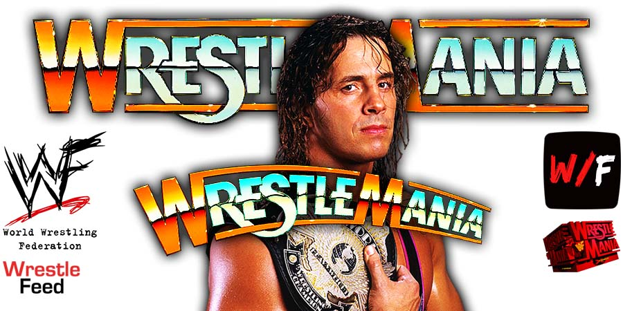 Bret Hart WrestleMania WrestleFeed App