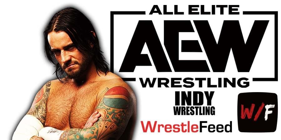 CM Punk AEW Article Pic 1 WrestleFeed App