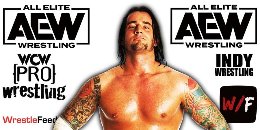CM Punk AEW Article Pic 2 WrestleFeed App