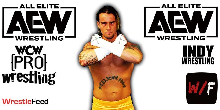 CM Punk AEW Article Pic 3 WrestleFeed App
