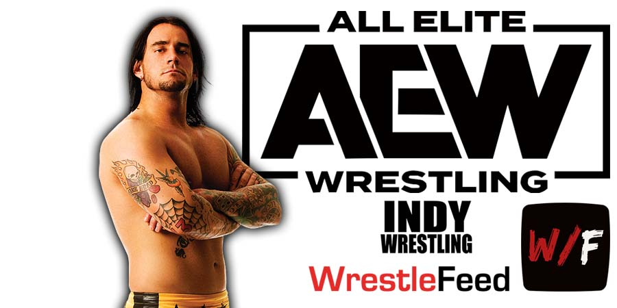 CM Punk AEW Article Pic 4 WrestleFeed App