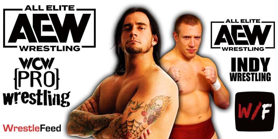 CM Punk Daniel Bryan AEW Article Pic 1 WrestleFeed App