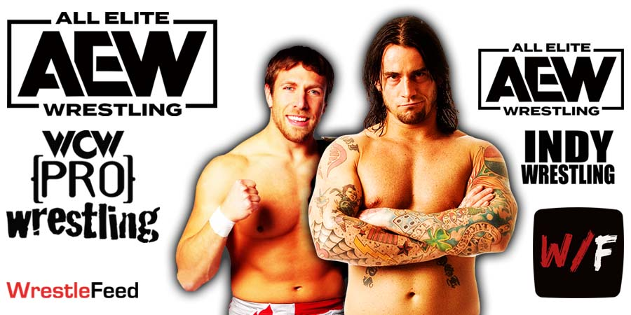 CM Punk Daniel Bryan AEW Article Pic 2 WrestleFeed App