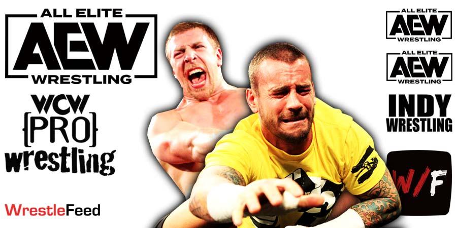 CM Punk Daniel Bryan AEW Article Pic 3 WrestleFeed App
