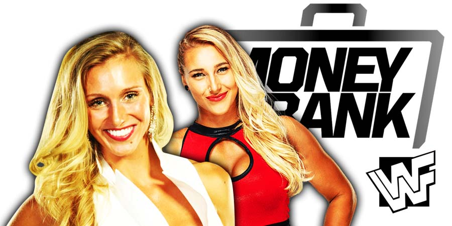 Charlotte Flair made Rhea Ripley tap out at WWE Money In The Bank 2021