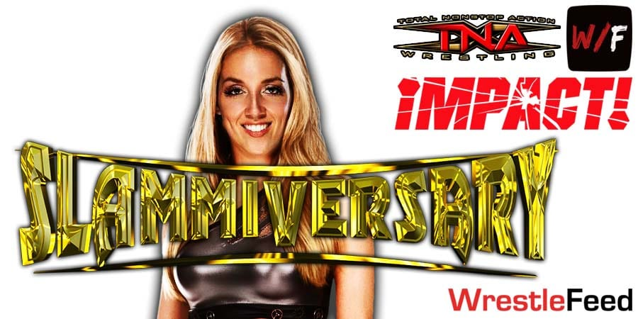 Chelsea Green Impact Wrestling Slammiversary 2021 WrestleFeed App