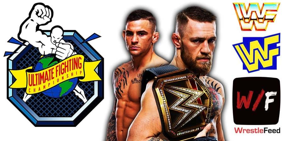 Conor McGregor Loses To Dustin Poirier Via Doctor Stoppage TKO UFC 264 WrestleFeed App