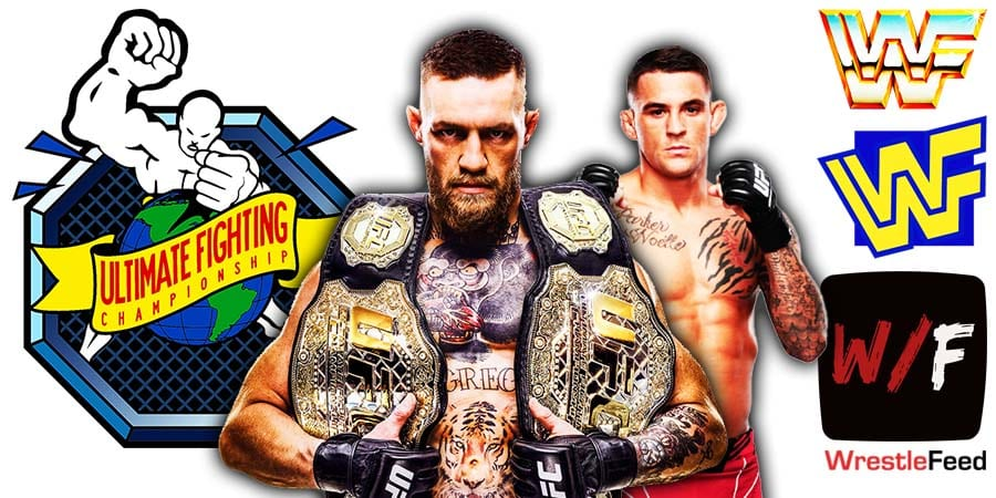 Conor McGregor loses to Dustin Poirier at UFC 264 WrestleFeed App