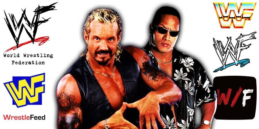 DDP Diamond Dallas Page vs The Rock Dwayne Johnson WWF WCW WrestleFeed App