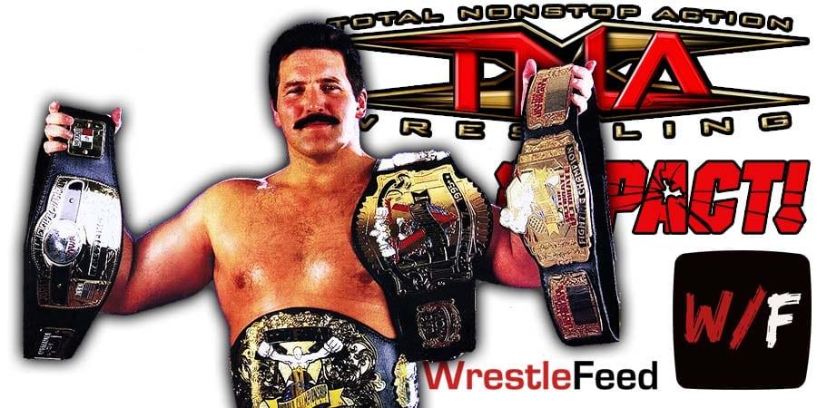 Dan Severn TNA Impact Wrestling Article Pic 1 WrestleFeed App