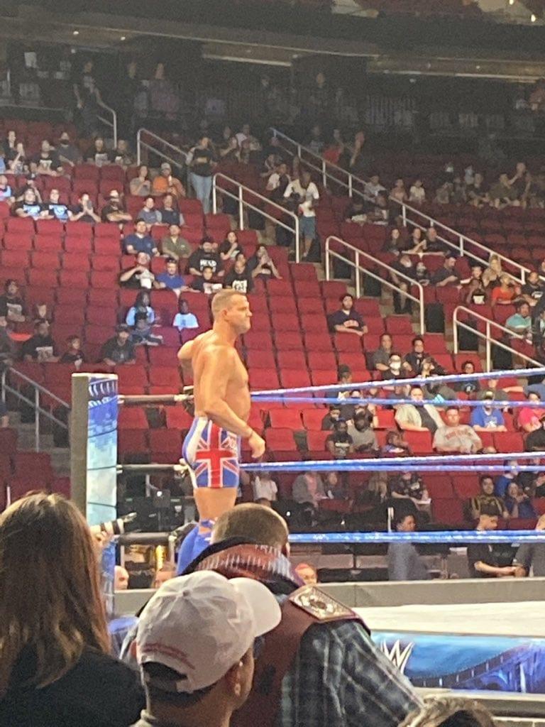 David Hart Smith Davey Boy Smith Jr SmackDown Dark Match July 2021