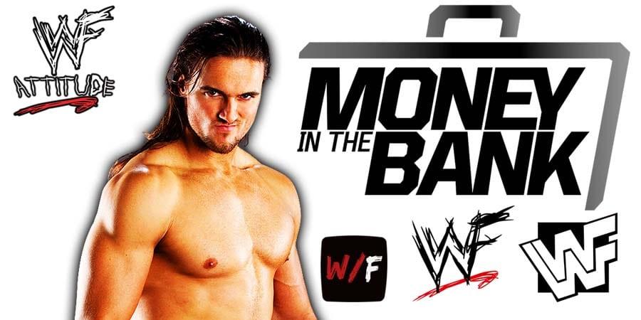 Drew McIntyre Money In The Bank 2021 WrestleFeed App