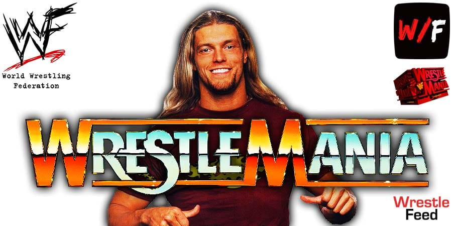 Edge WrestleMania 38 WrestleFeed App