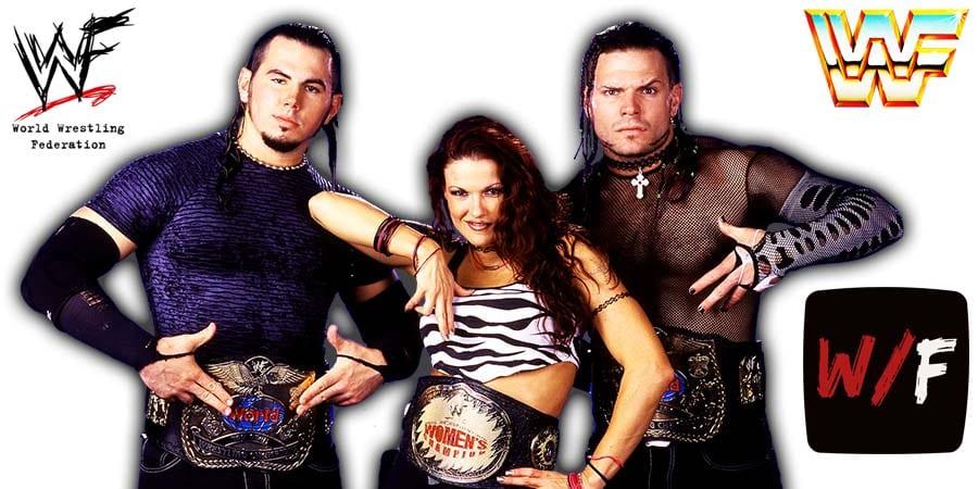 Hardy Boyz Matt Hardy Jeff Hardy Lita Team Extreme Article Pic 3 WrestleFeed App