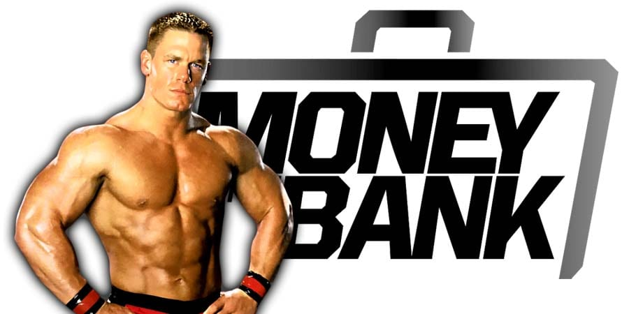 John Cena Is Back At WWE Money In The Bank 2021