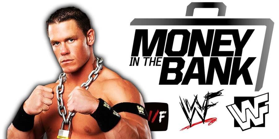 John Cena Money In The Bank 2021 WrestleFeed App