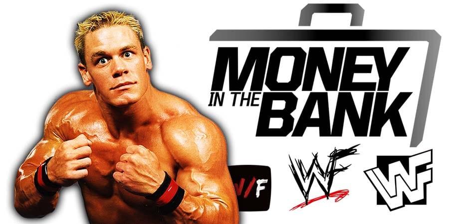 John Cena Returns At WWE Money In The Bank 2021 WrestleFeed App