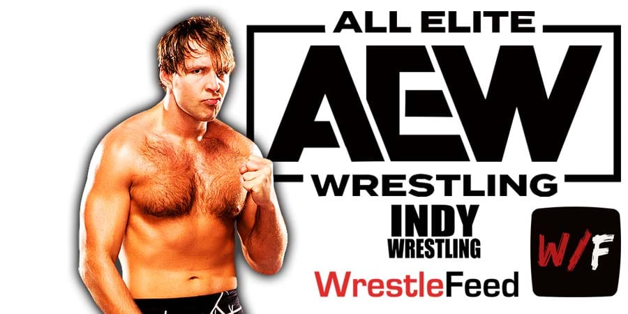 Jon Moxley Dean Ambrose AEW Article Pic 2 WrestleFeed App