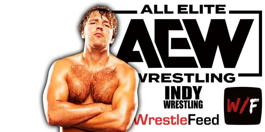 Jon Moxley Dean Ambrose AEW Article Pic 3 WrestleFeed App