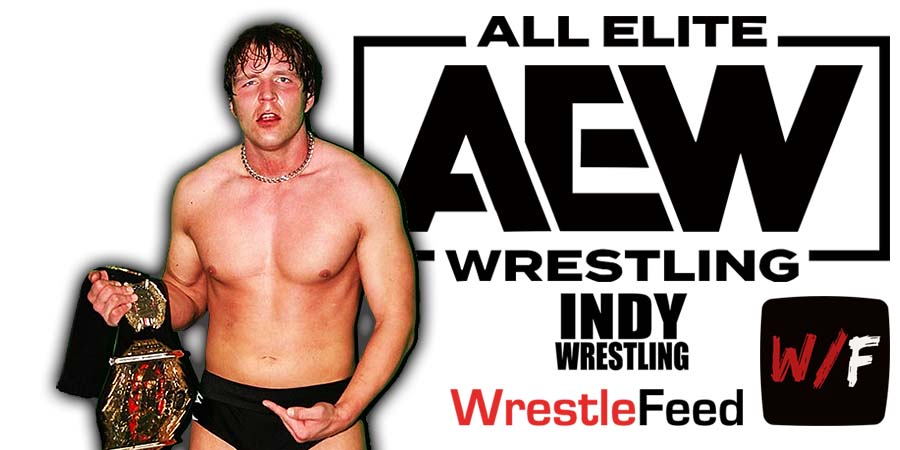 Jon Moxley Dean Ambrose AEW Article Pic 4 WrestleFeed App