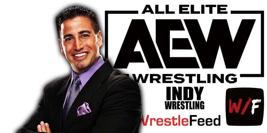 Justin Roberts AEW Article Pic 1 WrestleFeed App