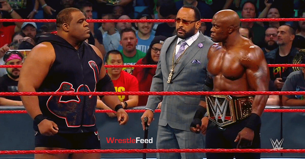 Keith Lee WWE Champion Bobby Lashley Face To Face RAW WrestleFeed App