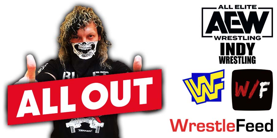 Kenny Omega AEW All Out WrestleFeed App
