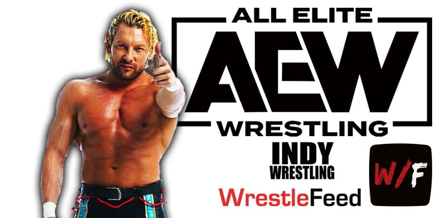 Kenny Omega AEW Article Pic 2 WrestleFeed App