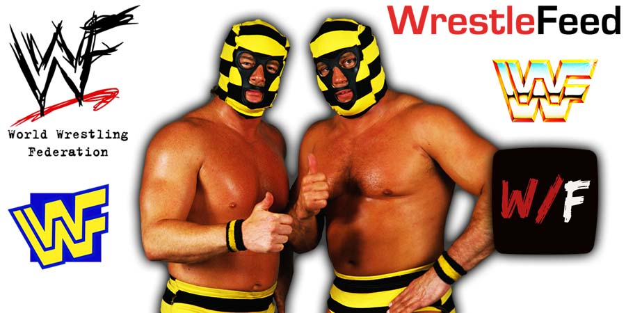 Killer Bees - Brian Blair & Jim Brunzell Article Pic 1 WrestleFeed App