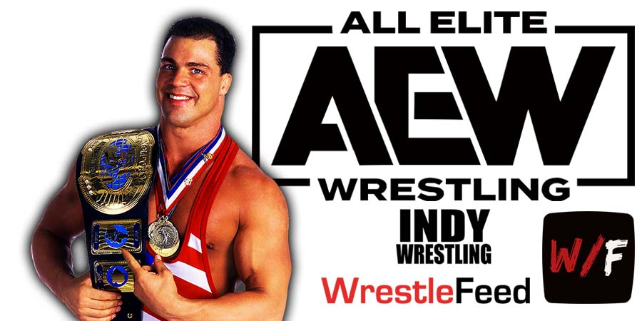 Kurt Angle AEW All Elite Wrestling Article Pic 5 WrestleFeed App