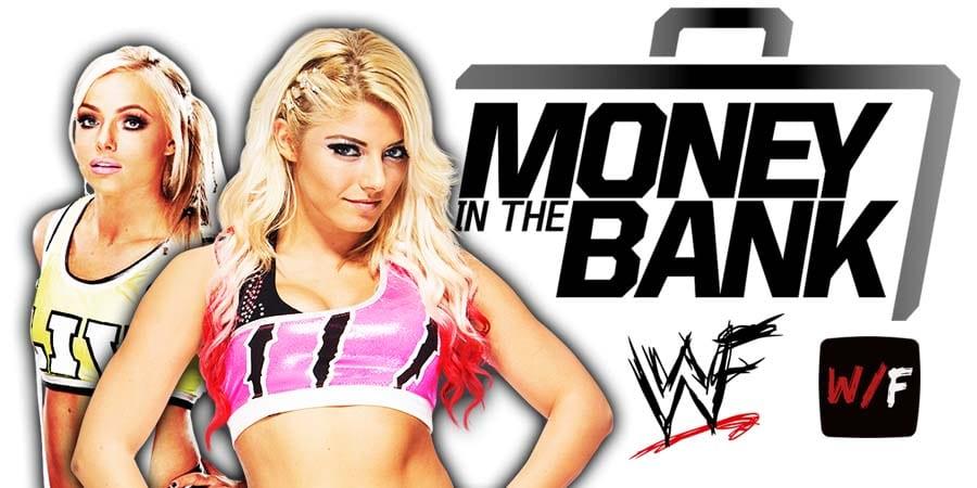 Liv Morgan Alexa Bliss Money In The Bank 2021 WrestleFeed App