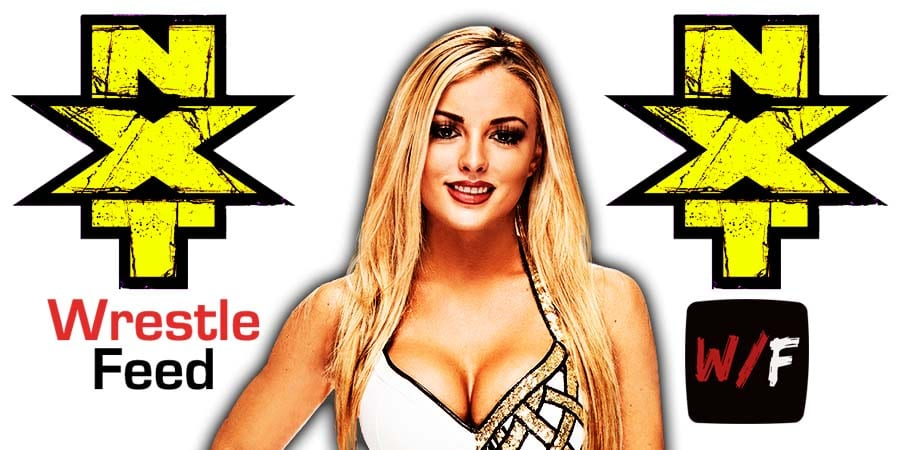 Mandy Rose 2016 NXT Article Pic 1 WrestleFeed App
