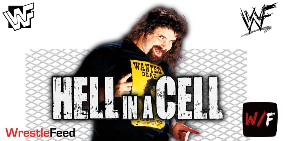 Mick Foley Mankind Cactus Jack Dude Love Hell In A Cell Match WrestleFeed App