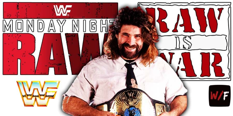 Mick Foley RAW Article Pic 1 WrestleFeed App